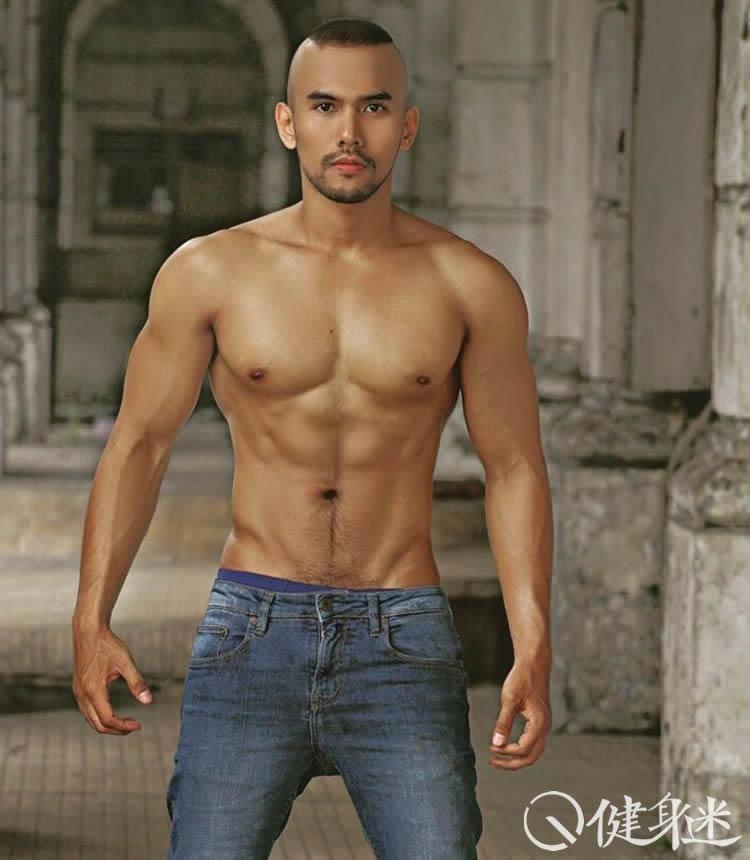 来自印尼的肌肉男模 instagram肌肉帅哥 IG sweetjuna86 八零后肌肉男 印度尼西亚 东方帅哥 健身迷网